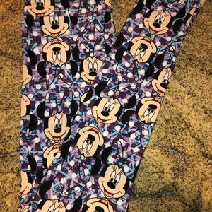 Other - Disney Minnie LuLaRoe Leggings